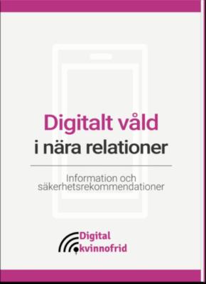 Digitalt våld i nära relationer
